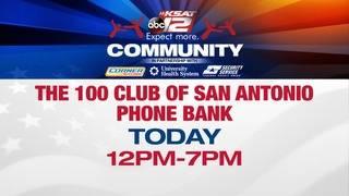 KSAT 12, 100 Club of SA host phone bank