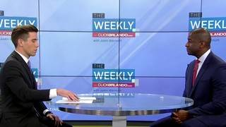 'The Weekly' talks governor's race with Democratic candidate Andrew Gillum