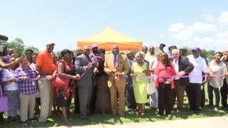 Edward Waters College hosts ribbon-cutting ceremony for JWJ Building
