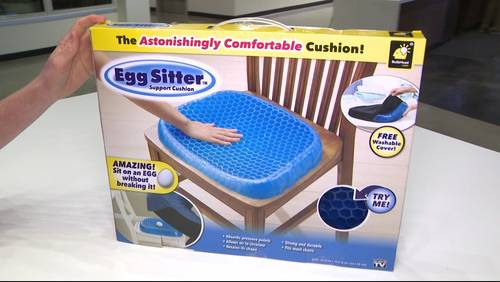 As seen on TV Tuesday: Testing the Egg Sitter Seat Cushion