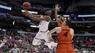 Evans, Texas Tech sink Gators to earn spot in Sweet 16