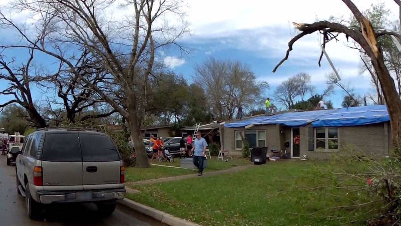 tornado clean up 2