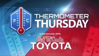 Thermometer Thursday: October 26, 2017