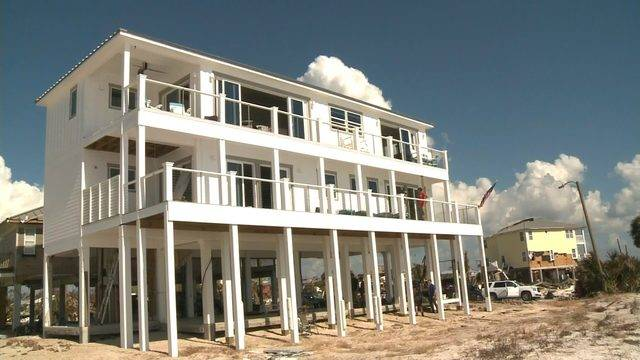 This Home On Mexico Beach Survived Hurricane Michael That S No Coincidence
