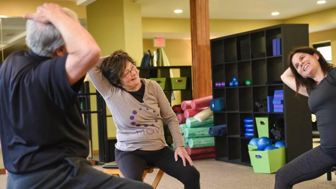 MOVE Wellness stretch