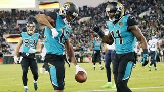 Jaguars young receivers grow up against Seahawks