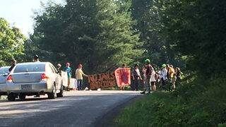 Mountain Valley Pipeline protester arrested in Montgomery County