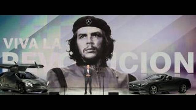 Mercedes Uses Che Guevara Image