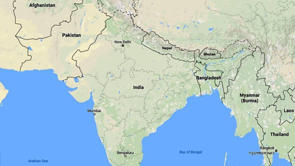 India Pakistan map06503282-75042528