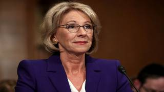 Education Dept. unveils controversial sexual misconduct rules