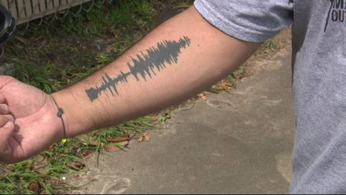 New wave tattoo trend brings sound to ink