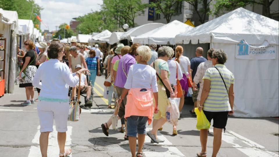 A2 Art Fair stroll