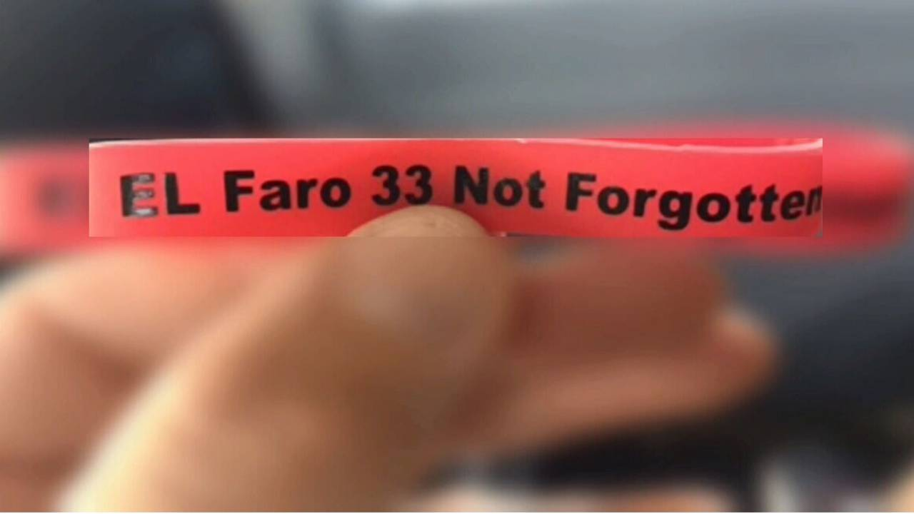El Faro 33 Not Forgotten wristband