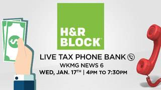 News 6 hosts tax phone bank with H&R Block