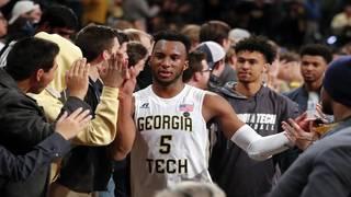 Okogie scores season-high 30 points as Georgia Tech upsets No. 15 Miami