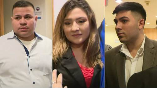 3 of 5 bar workers charged in deadly crash briefly appear in court