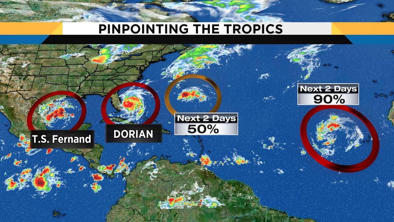 Tropics are popping