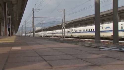 Could Texas be getting high-speed rail train?