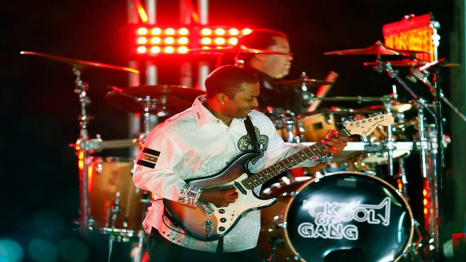 Kool & the Gang performs at 2010 Orange Bowl
