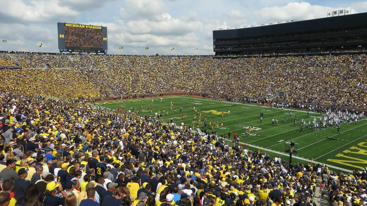 Image result for michigan stadium