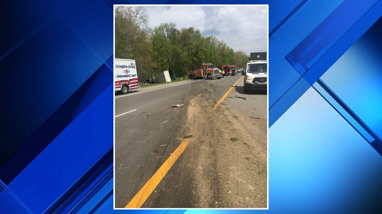 US 23 Northfield Township crash MSP picture 1