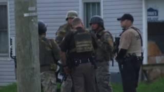 One person in custody after shooting, manhunt in Pulaski County