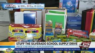 'Stuff the Silverado' school supply drive continues through July 31