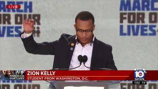 March for Our Lives in Washington: Zion Kelly talks about brother's&hellip&#x3b;