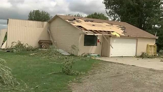 Tuscola County Kingston tornado house damaged