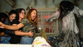 PHOTOS: 10 amazing reactions to a truly terrifying Houston-area haunted house