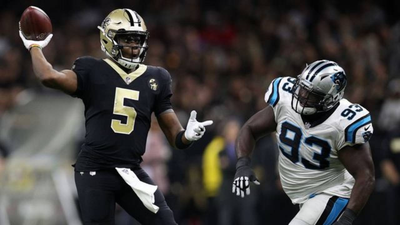 Saints Teddy Bridgewater Panthers getty