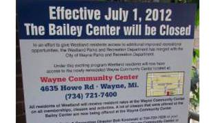Bailey Recreation Center in Westland to close