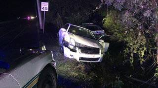 Man plows into deputy with vehicle, shoots at others in Polk County