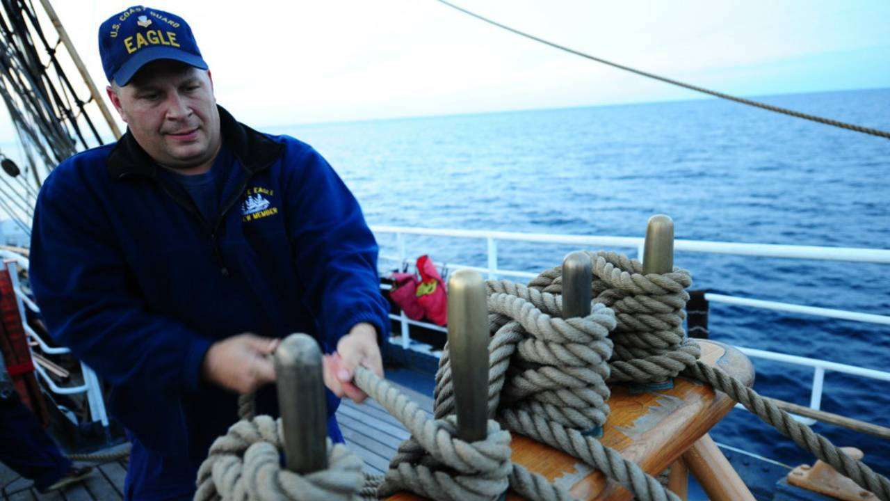U.S. Coast Guard Petty Officer 1st Class John Presnar