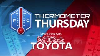 Thermometer Thursday: August 17, 2017