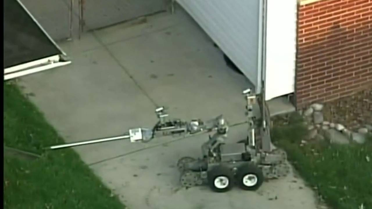 Third robot used St. Clair Shores barricaded gunman