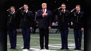 President Trump takes field at College Football Playoff National&hellip&#x3b;
