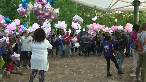 Justice for Maleah: Group holds vigil at Oyster Creek Park for missing girl