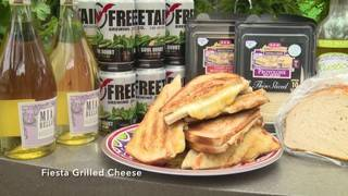H-E-B Backyard Kitchen: Fiesta Grilled Cheese