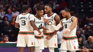 Walker, Brown become first Hurricanes chosen in same NBA draft since 1970