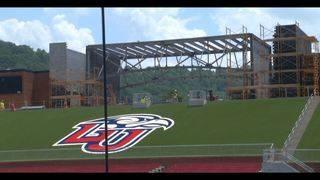Williams stadium expansion continues at Liberty ahead of season opener