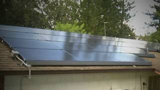 Solar panel customer says company took his money, abandoned project