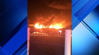 Fire destroys several boats at Key Largo marina