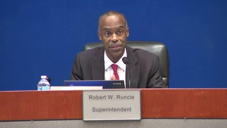 BCPS Superintendent Robert Runcie speaks about backlash over PROMISE program 20180508204305.jpg