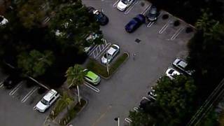 2 in custody after blue Mustang with stolen tag flees from police in Miramar