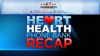 KSAT Community Heart Health Phone Bank recap