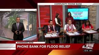 KSAT Community Texas Flood Relief Phone Bank