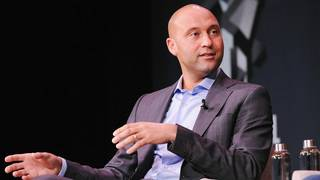 Perspective:  Will Manso captures Derek Jeter's town hall meeting