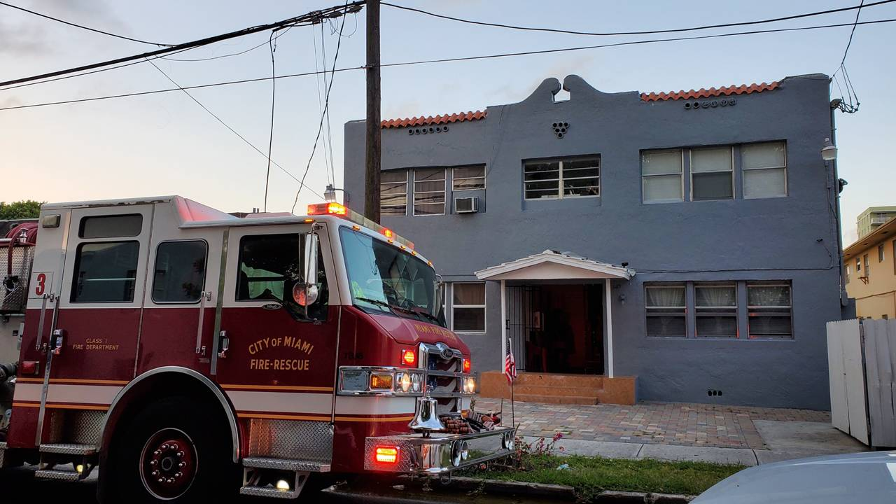 Apartment building fire in Little Havana leaves 11 without homes 2