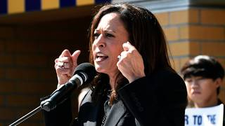 Kamala Harris: 'That is a prison'&#x3b; Warren and Trump collide in Nevada&#x3b;&hellip&#x3b;